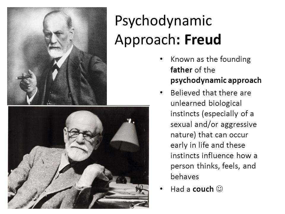 Psychodynamic Approach: Freud