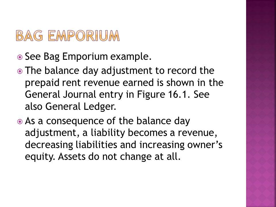 Bag Emporium See Bag Emporium example.