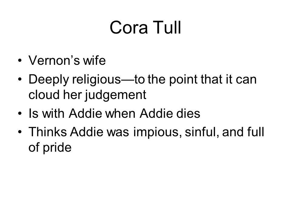 Cora Tull Vernon's wife