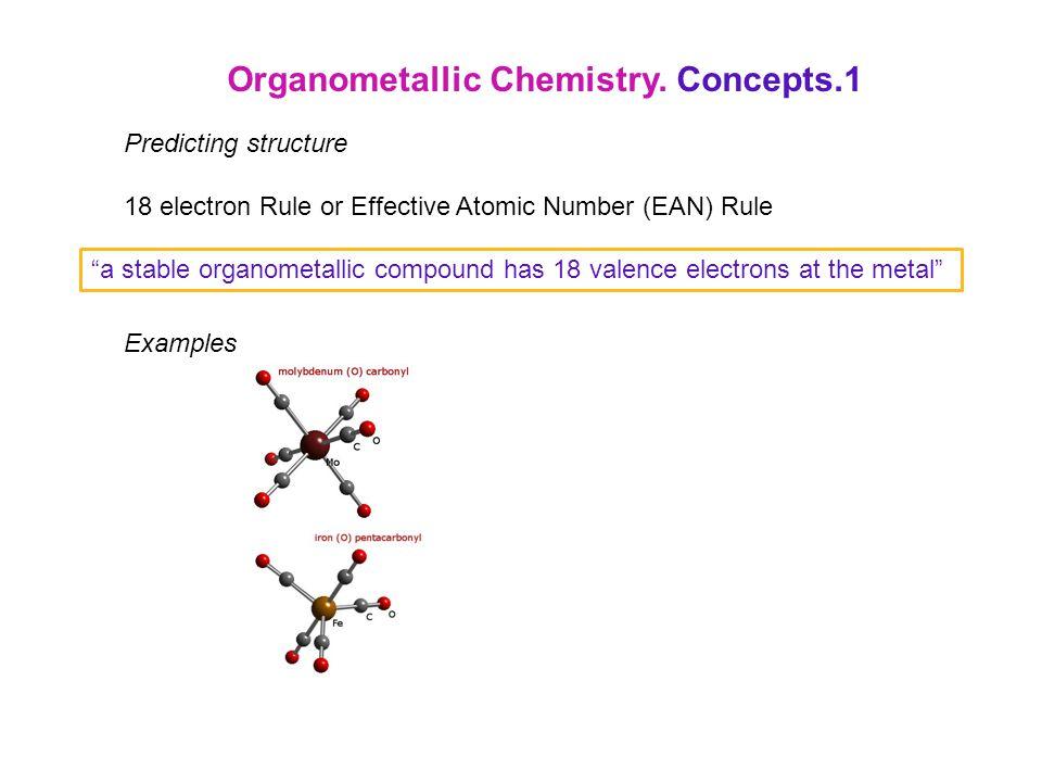Organometallic Chemistry. Concepts.1