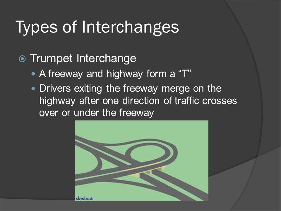 Types of Interchanges Trumpet Interchange