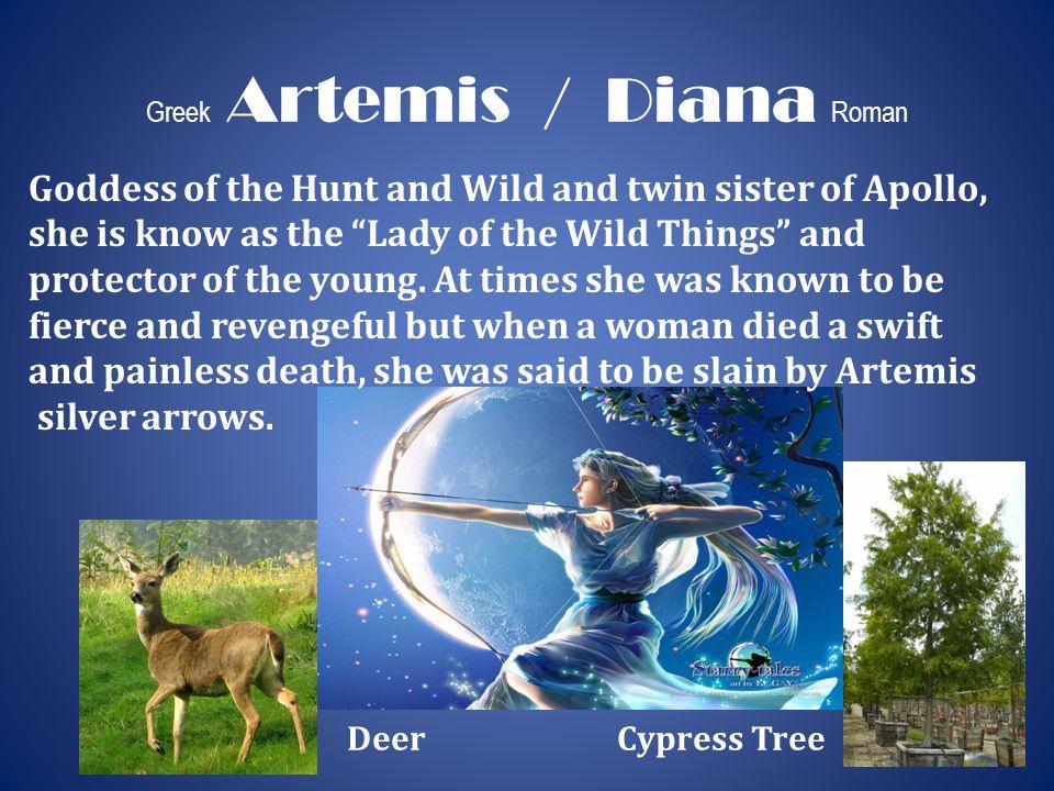 Greek Artemis / Diana Roman