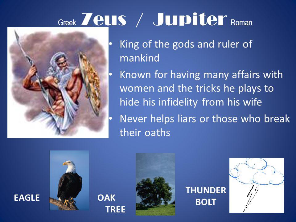 Greek Zeus / Jupiter Roman
