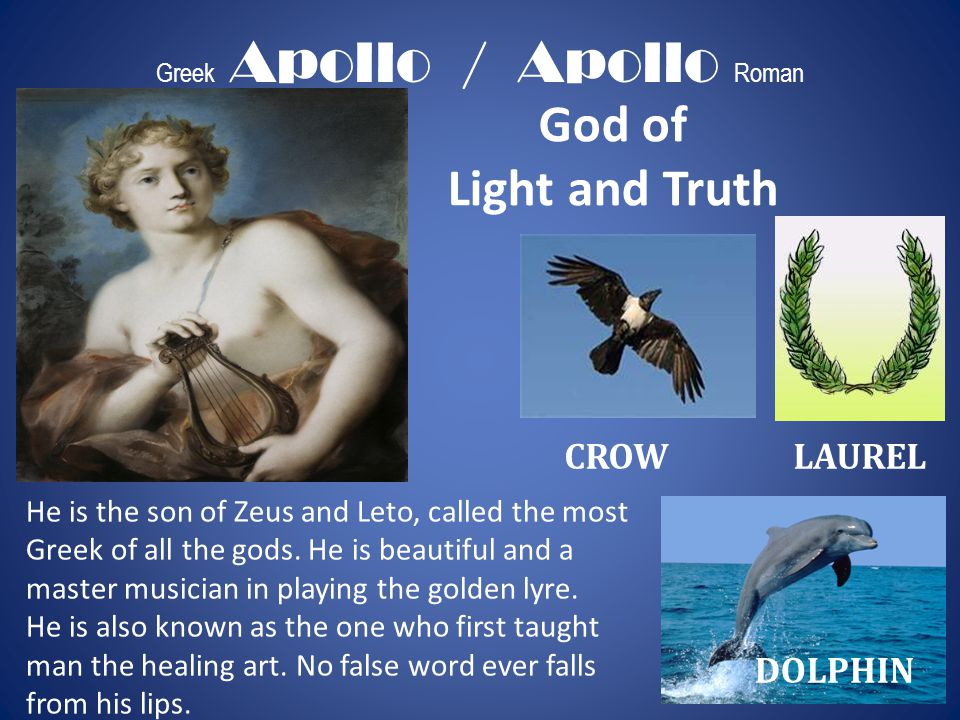Greek Apollo / Apollo Roman