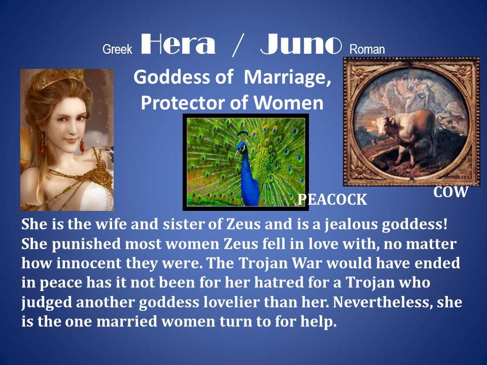 Goddess of Marriage, Protector of Women