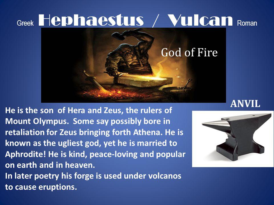 Greek Hephaestus / Vulcan Roman