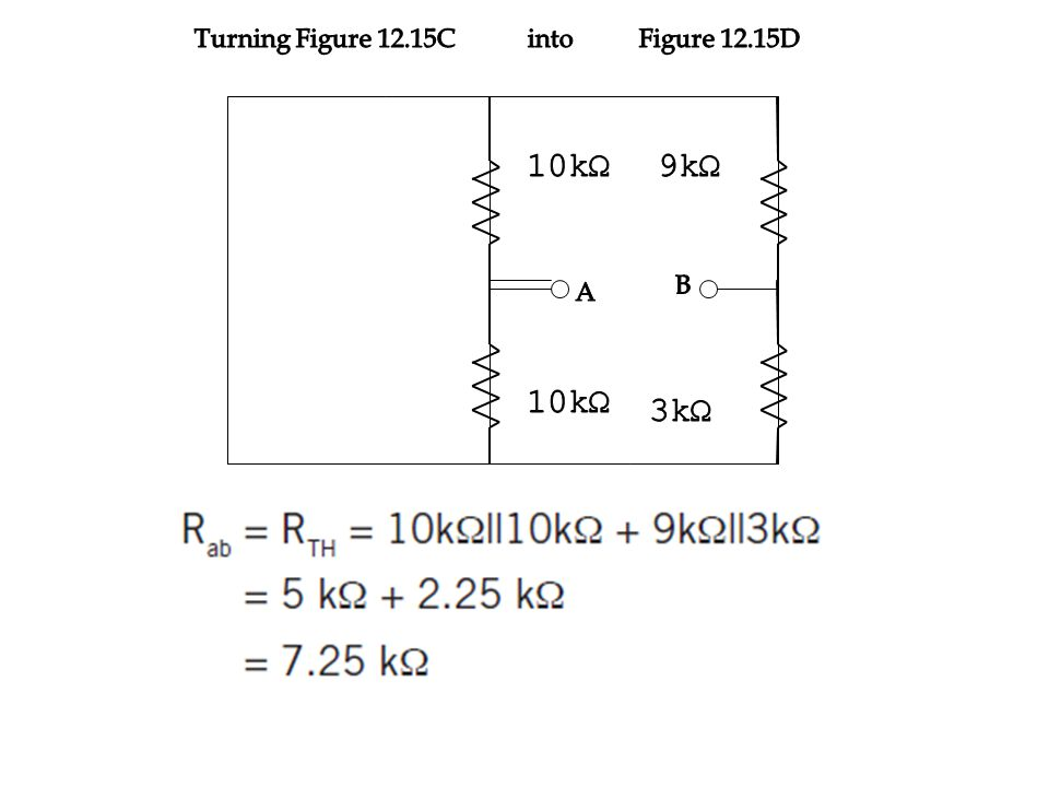 Turning Figure 12.15C into Figure 12.15D