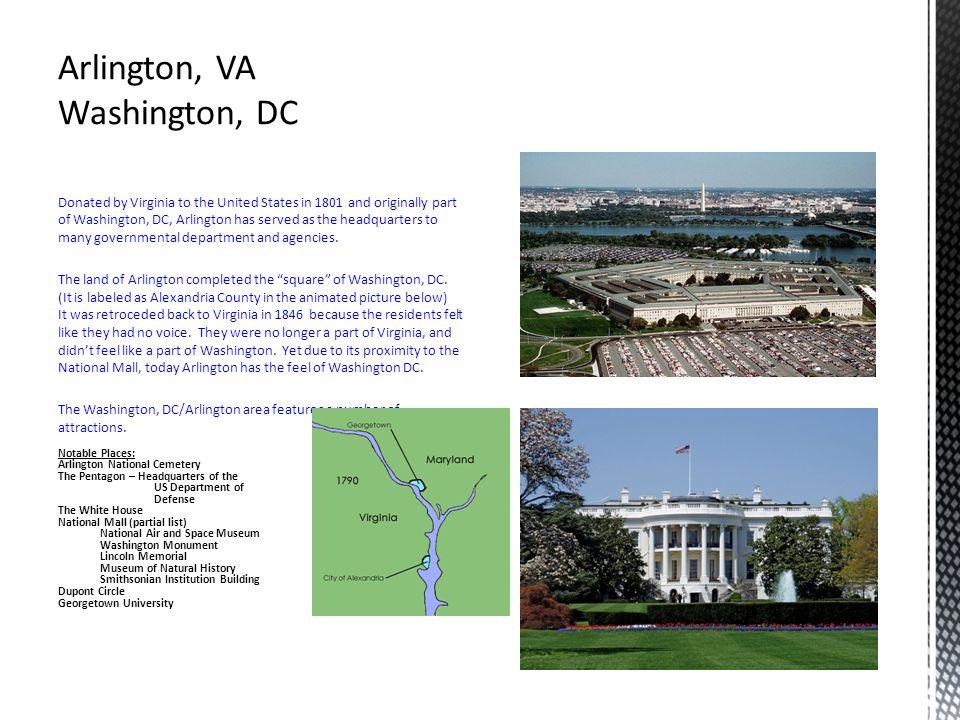 Arlington, VA Washington, DC