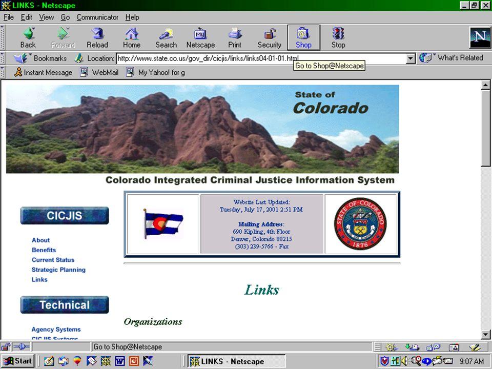 CICJIS Web Page