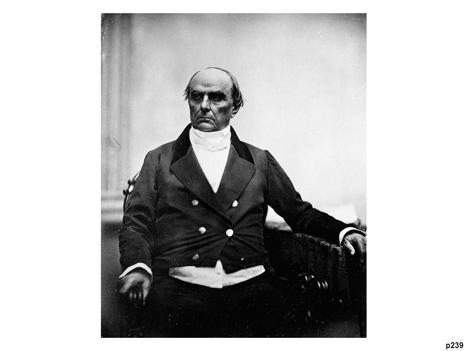 Daguerreotype of Daniel Webster (1782–1852), by