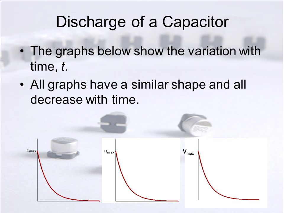 Discharge of a Capacitor