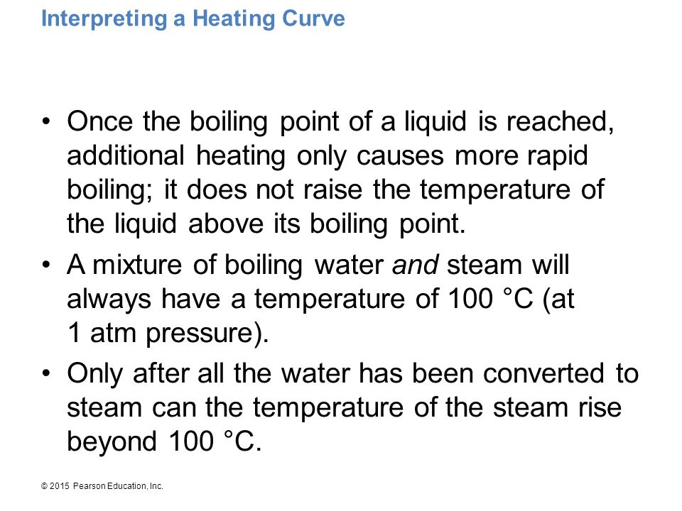 Interpreting a Heating Curve