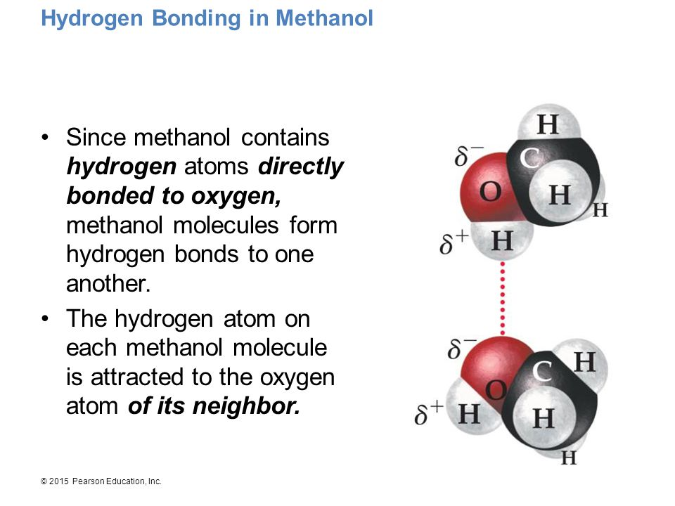 Hydrogen Bonding in Methanol