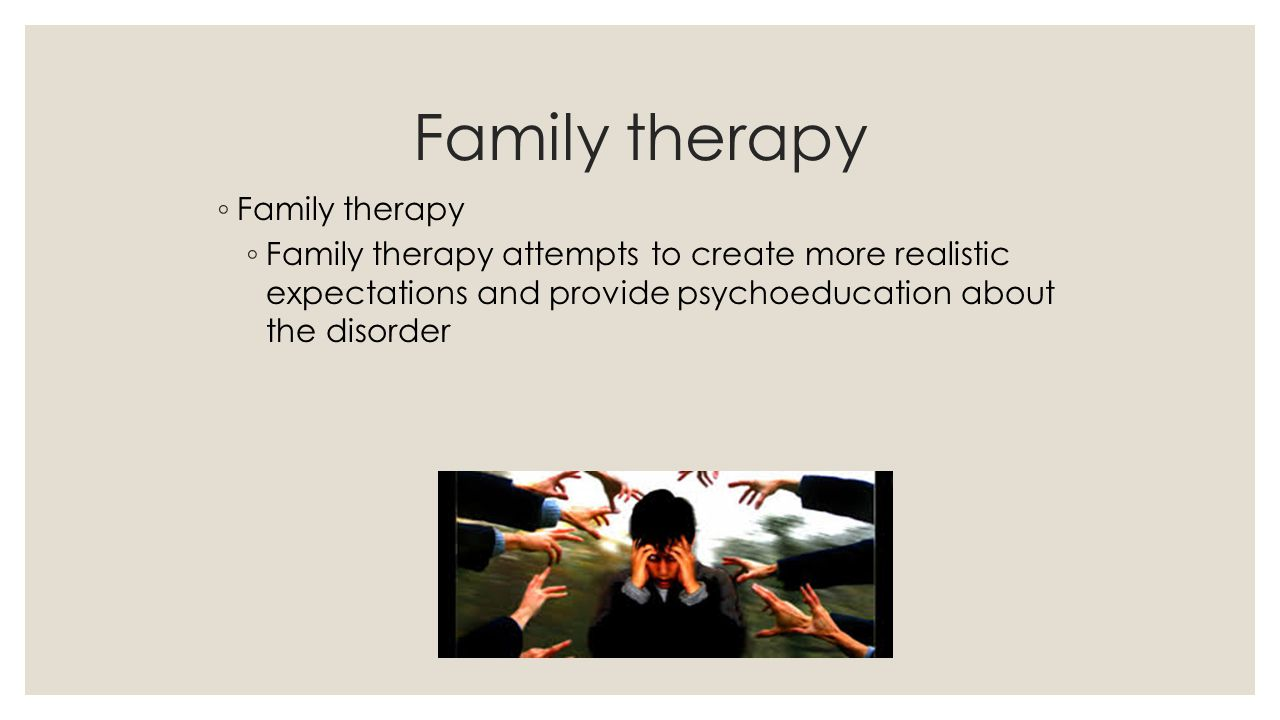 Family therapy Family therapy