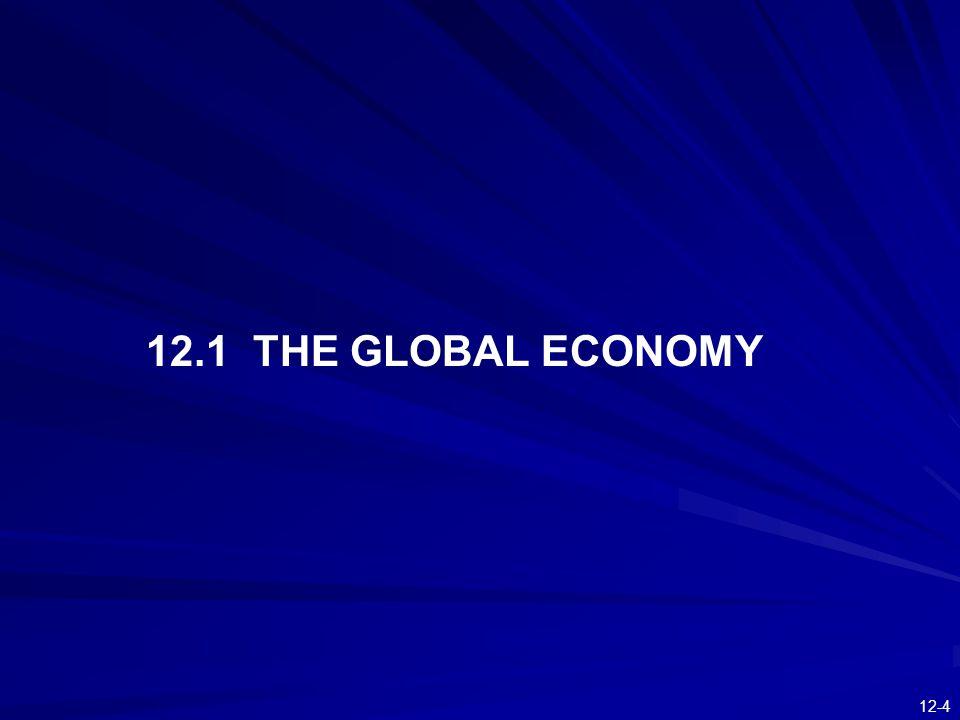 12.1 THE GLOBAL ECONOMY