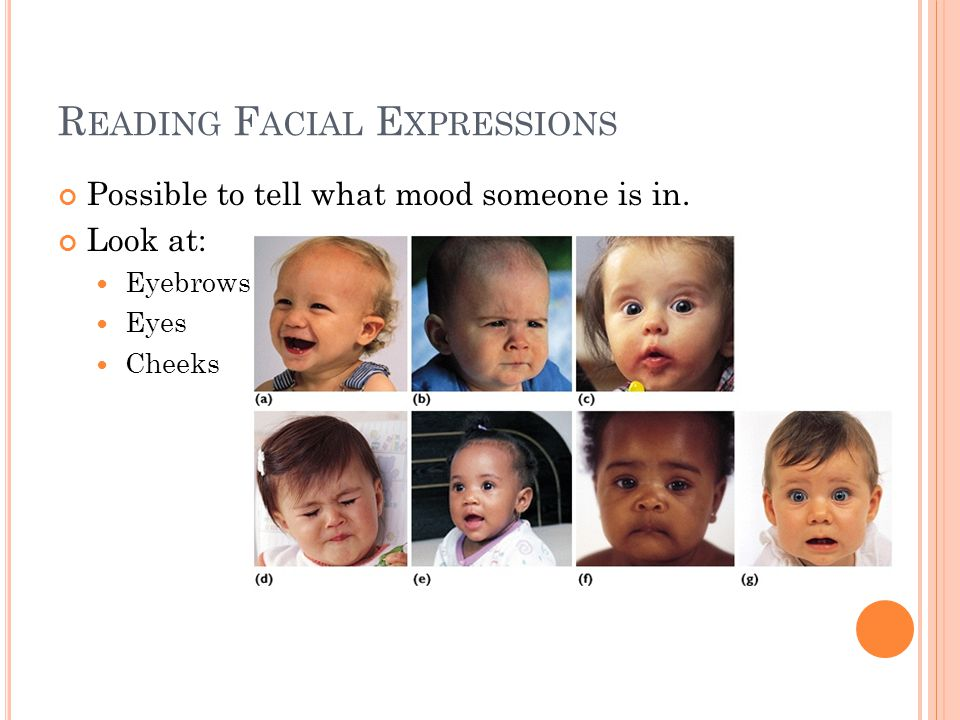 Reading Facial Expressions