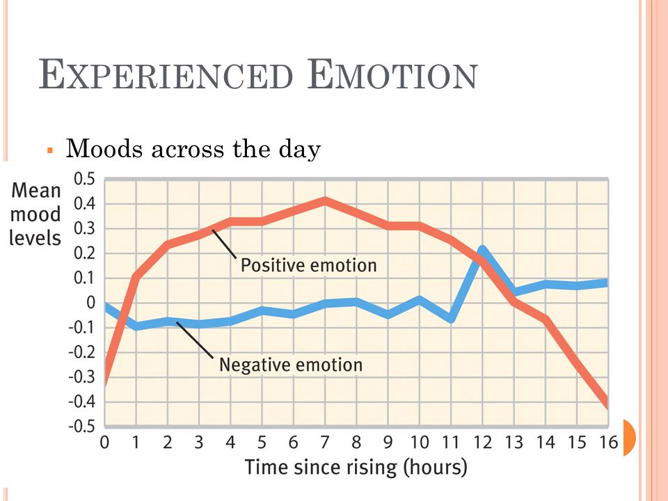 Experienced Emotion Moods across the day