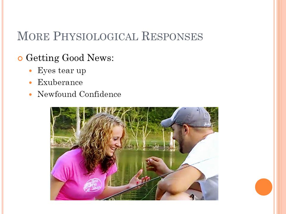 More Physiological Responses