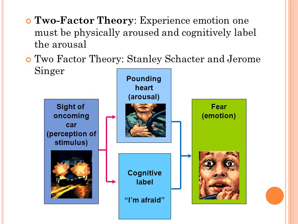 Two Factor Theory: Stanley Schacter and Jerome Singer