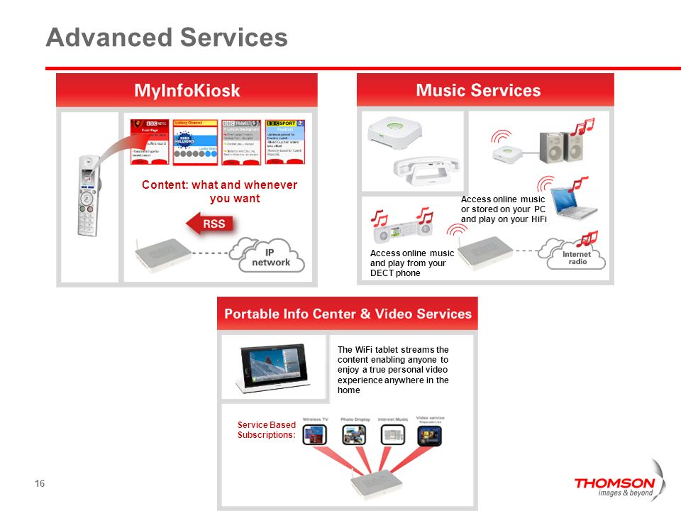 Advanced Services Content: what and whenever you want