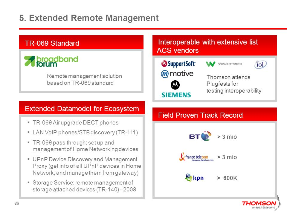 5. Extended Remote Management