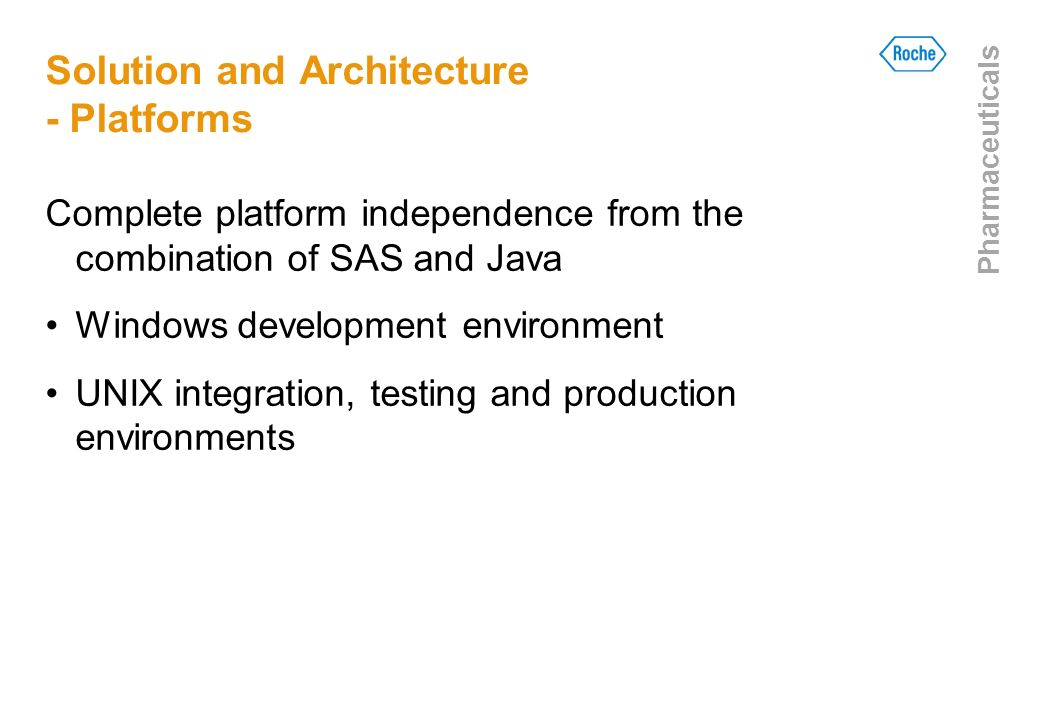 Solution and Architecture - Platforms