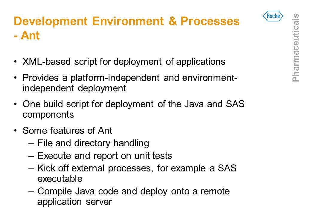 Development Environment & Processes - Ant