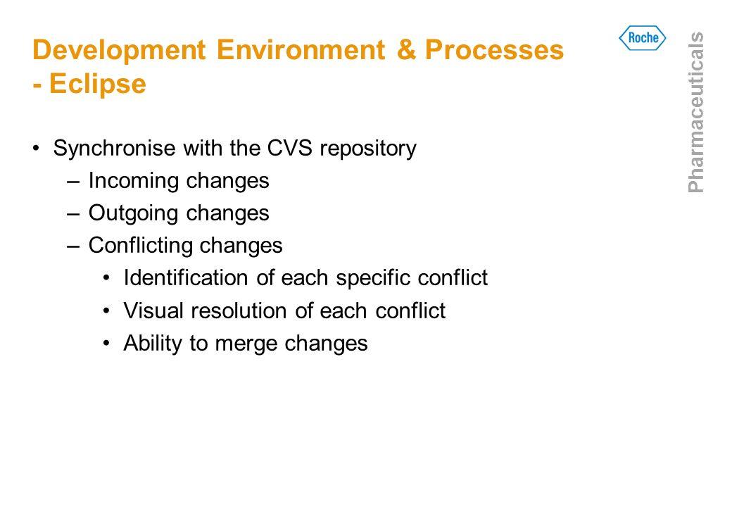 Development Environment & Processes - Eclipse
