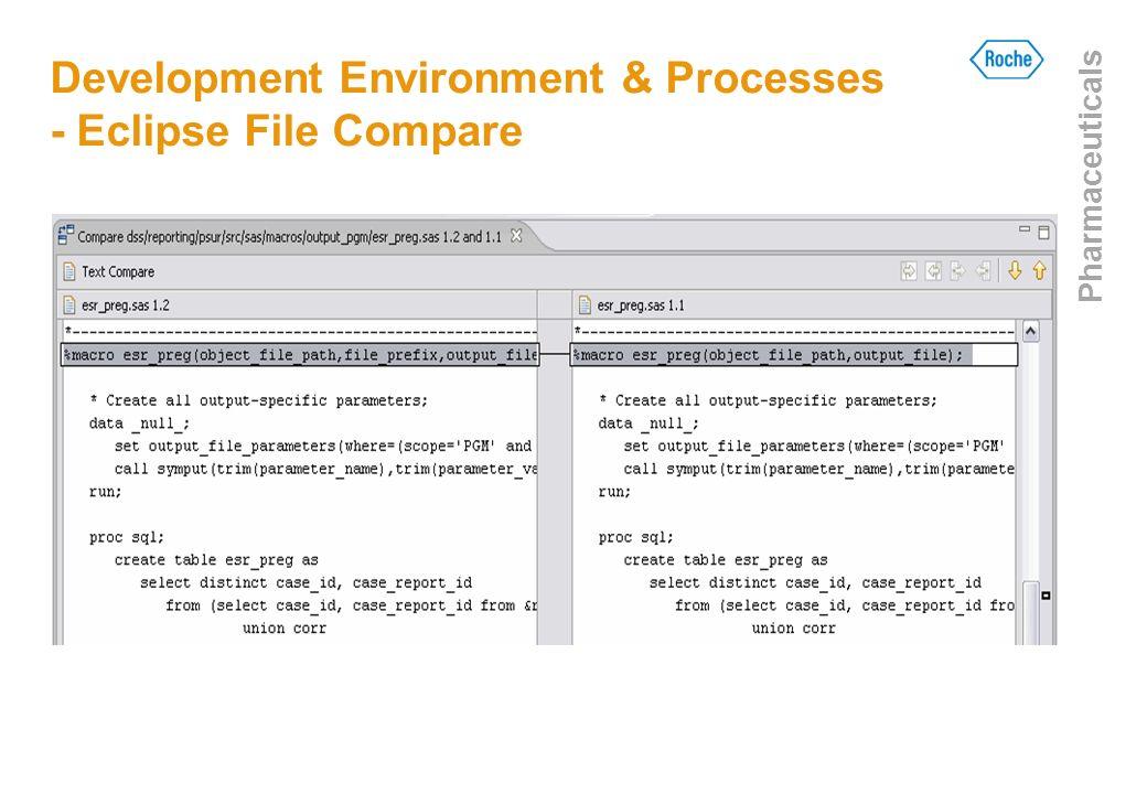 Development Environment & Processes - Eclipse File Compare