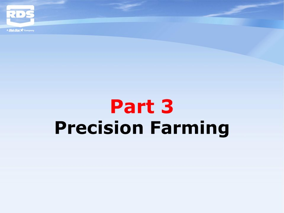 Part 3 Precision Farming