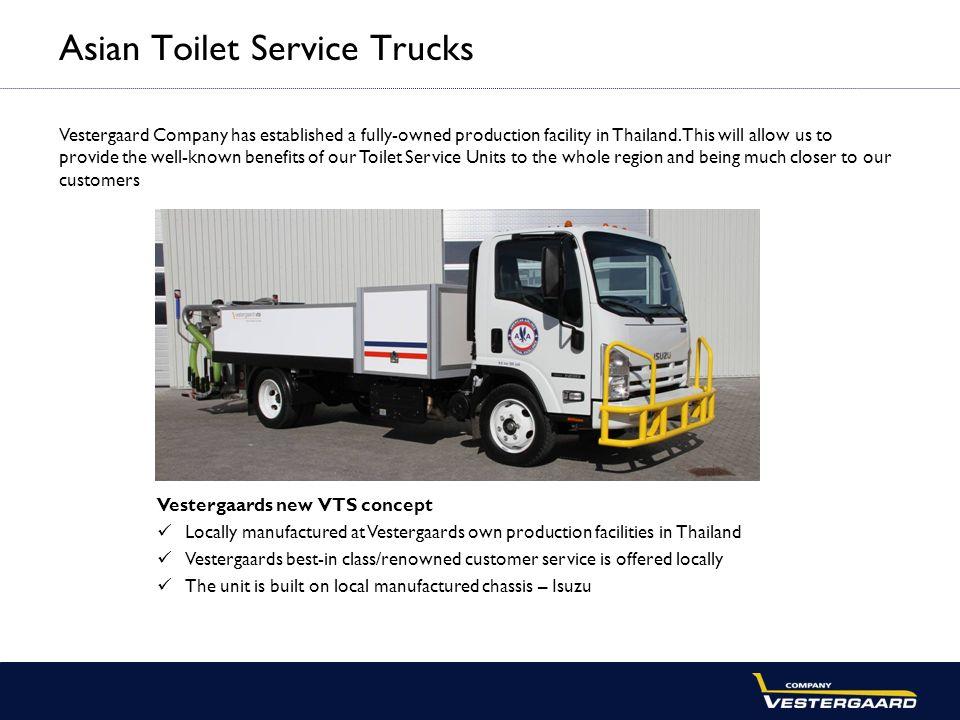 Asian Toilet Service Trucks