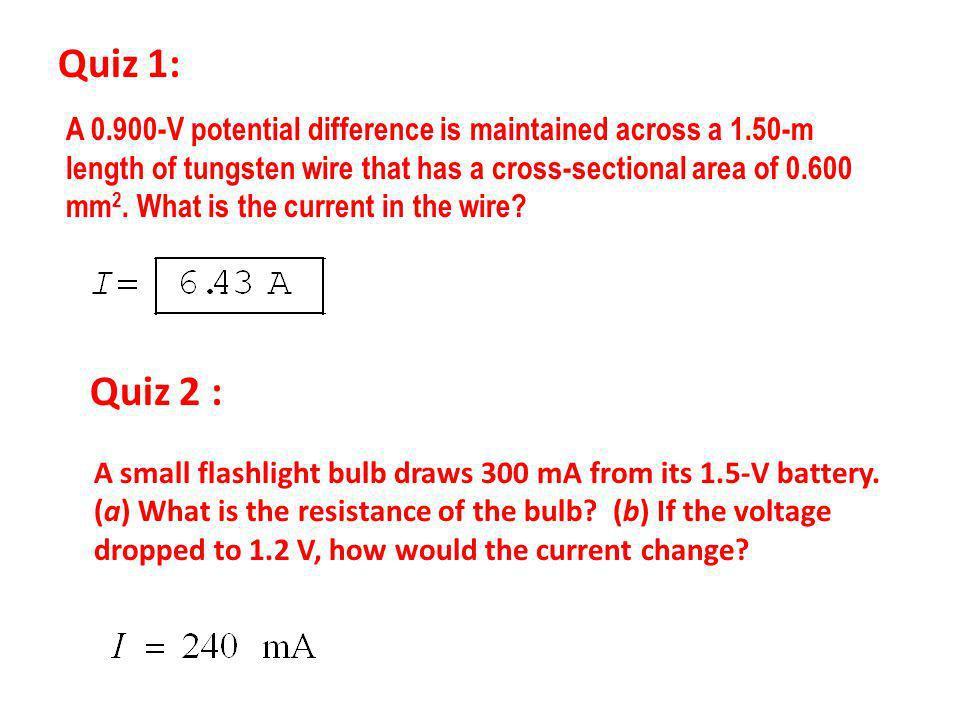 Quiz 1: