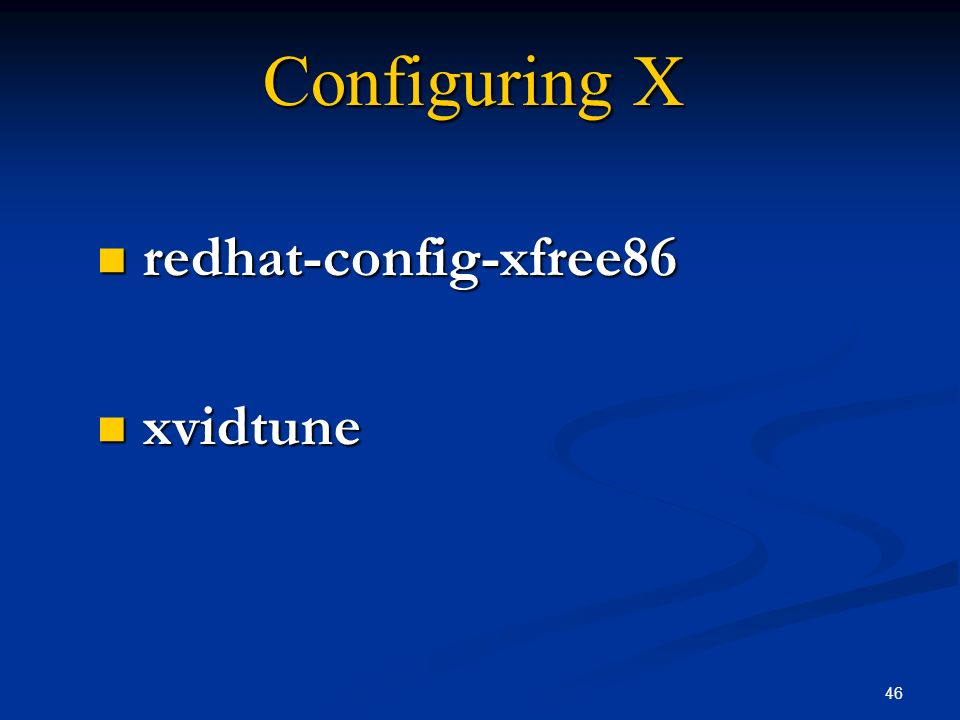 redhat-config-xfree86 xvidtune