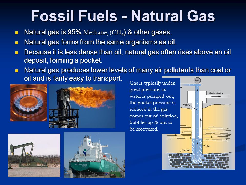 Fossil Fuels - Natural Gas