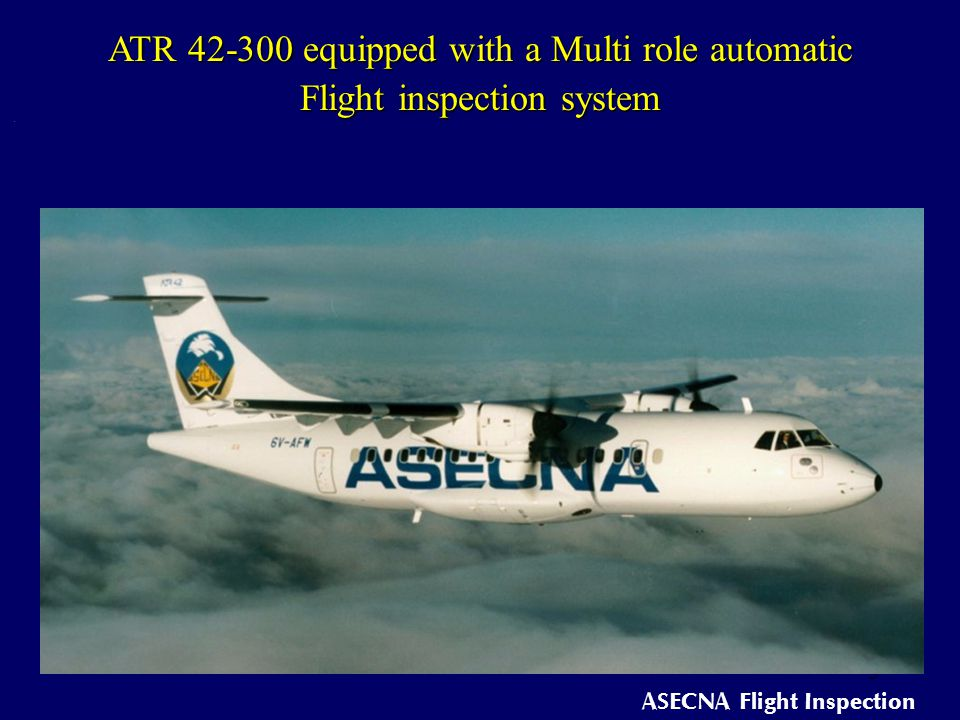 ASECNA Flight Inspection