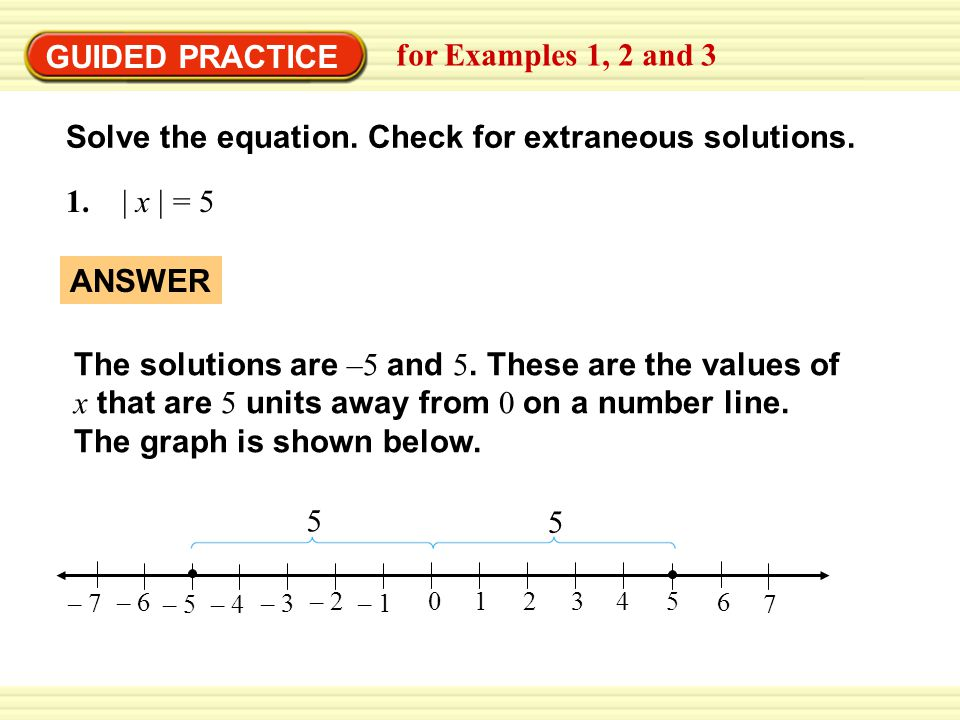 Solve the equation. Check for extraneous solutions.