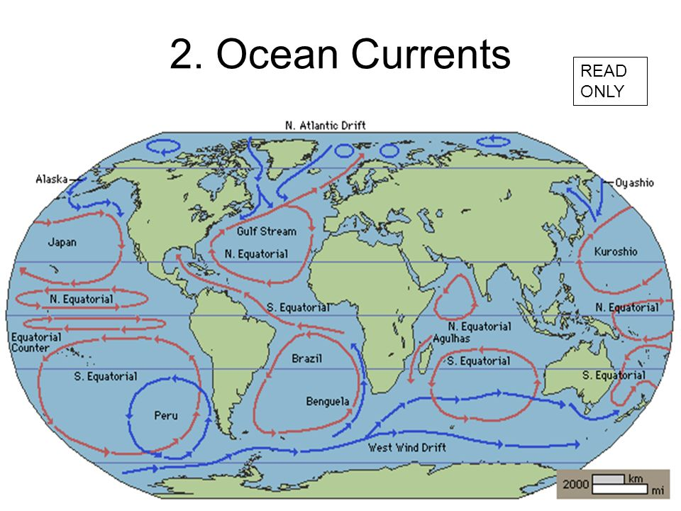 2. Ocean Currents READ ONLY