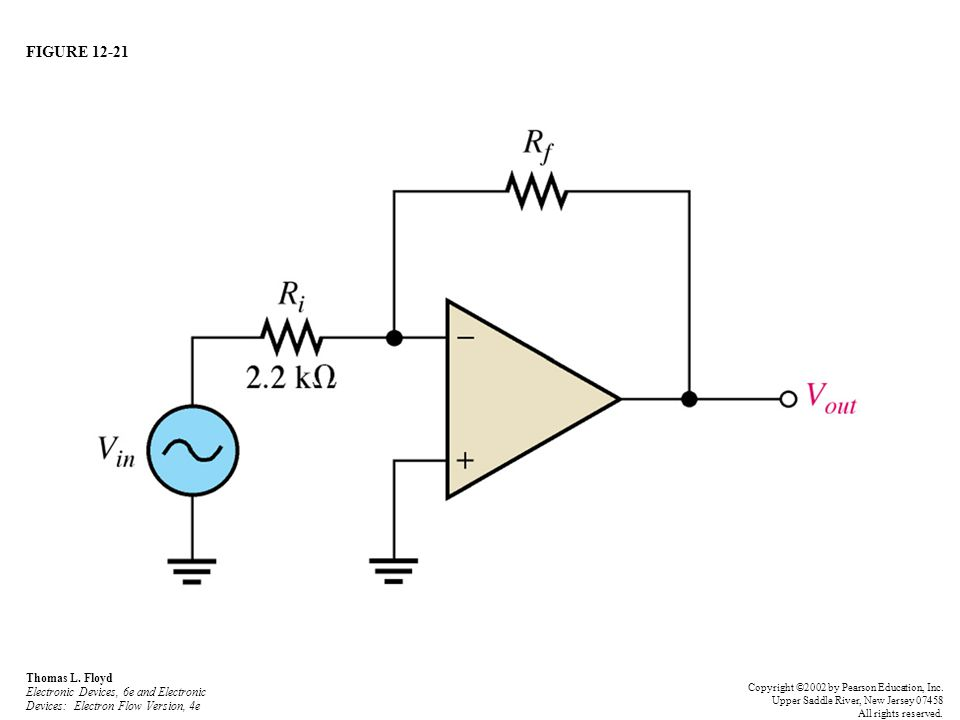 FIGURE 12-21 Thomas L. Floyd Electronic Devices, 6e and Electronic Devices: Electron Flow Version, 4e.