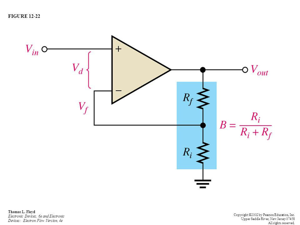 FIGURE 12-22 Thomas L. Floyd Electronic Devices, 6e and Electronic Devices: Electron Flow Version, 4e.
