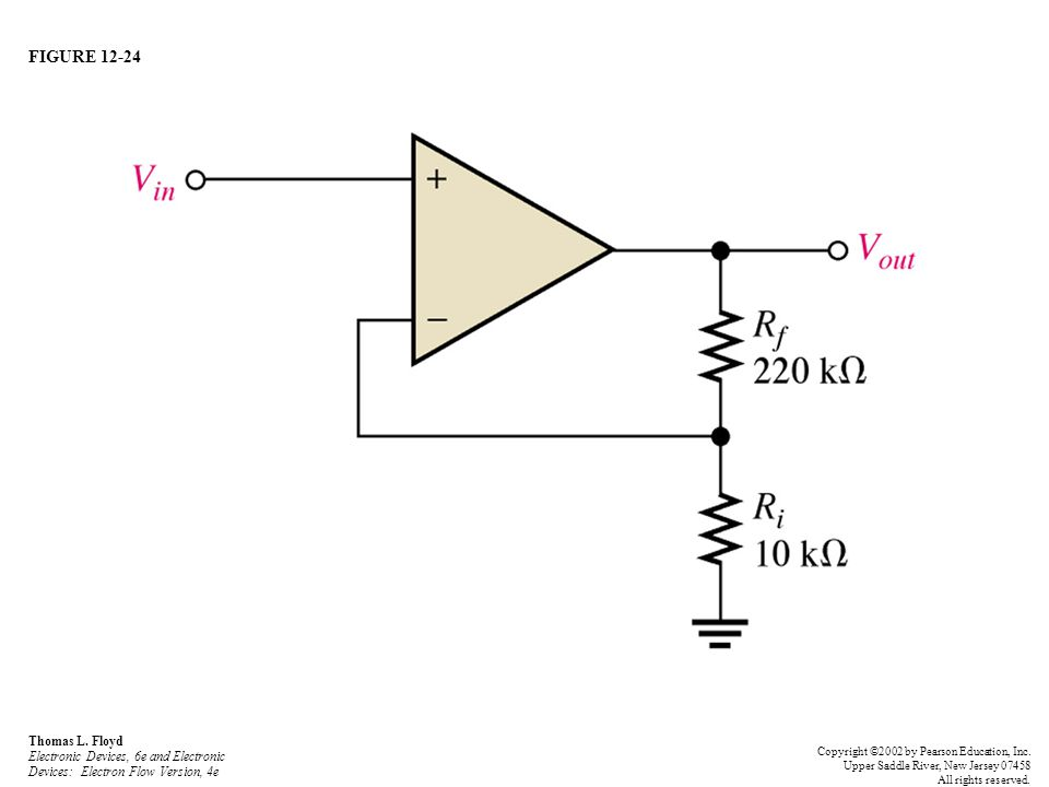 FIGURE 12-24 Thomas L. Floyd Electronic Devices, 6e and Electronic Devices: Electron Flow Version, 4e.