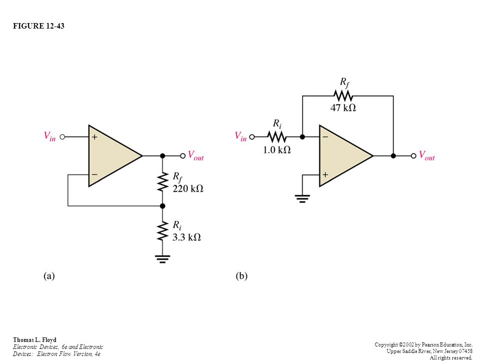 FIGURE 12-43 Thomas L. Floyd Electronic Devices, 6e and Electronic Devices: Electron Flow Version, 4e.