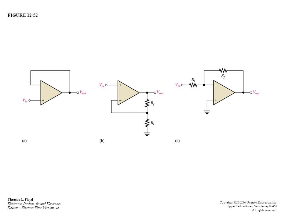 FIGURE 12-52 Thomas L. Floyd Electronic Devices, 6e and Electronic Devices: Electron Flow Version, 4e.