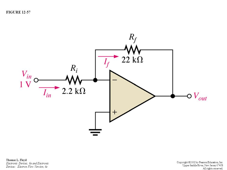 FIGURE 12-57 Thomas L. Floyd Electronic Devices, 6e and Electronic Devices: Electron Flow Version, 4e.