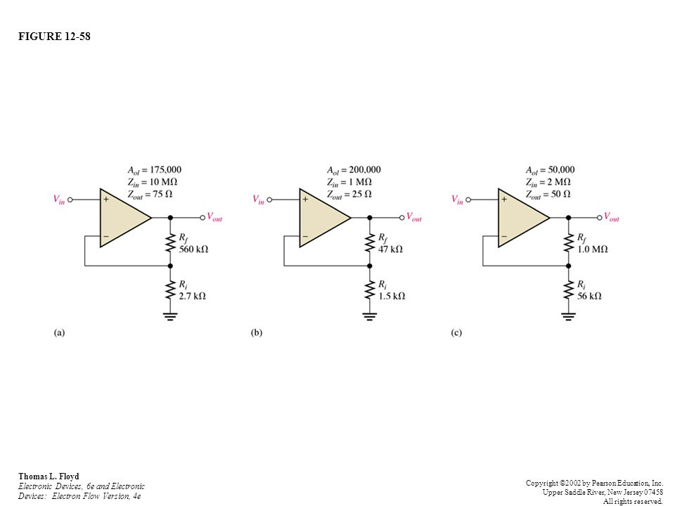 FIGURE 12-58 Thomas L. Floyd Electronic Devices, 6e and Electronic Devices: Electron Flow Version, 4e.