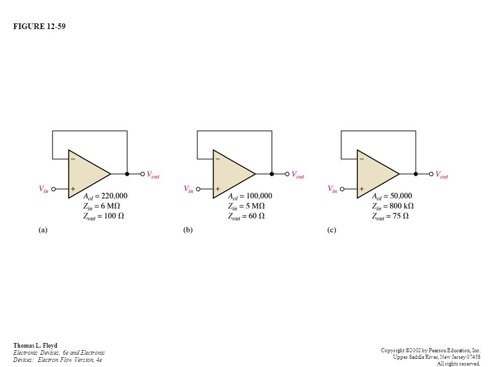 FIGURE 12-59 Thomas L. Floyd Electronic Devices, 6e and Electronic Devices: Electron Flow Version, 4e.
