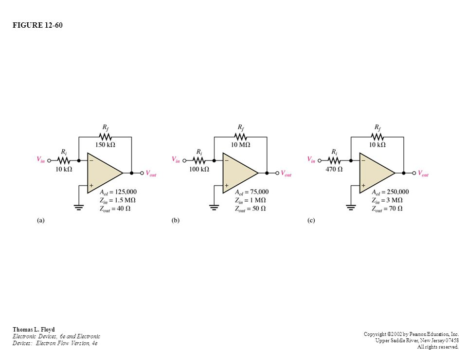 FIGURE 12-60 Thomas L. Floyd Electronic Devices, 6e and Electronic Devices: Electron Flow Version, 4e.