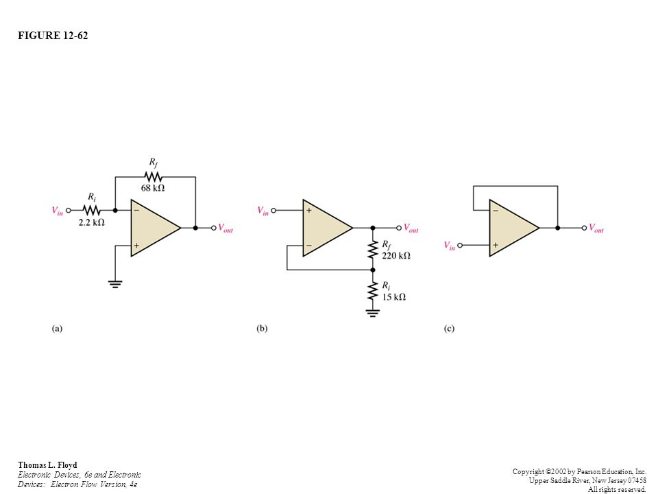 FIGURE 12-62 Thomas L. Floyd Electronic Devices, 6e and Electronic Devices: Electron Flow Version, 4e.