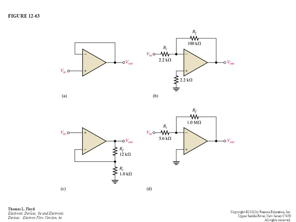 FIGURE 12-63 Thomas L. Floyd Electronic Devices, 6e and Electronic Devices: Electron Flow Version, 4e.