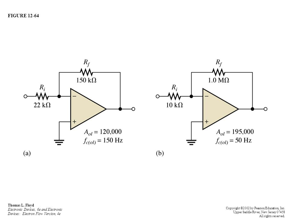 FIGURE 12-64 Thomas L. Floyd Electronic Devices, 6e and Electronic Devices: Electron Flow Version, 4e.