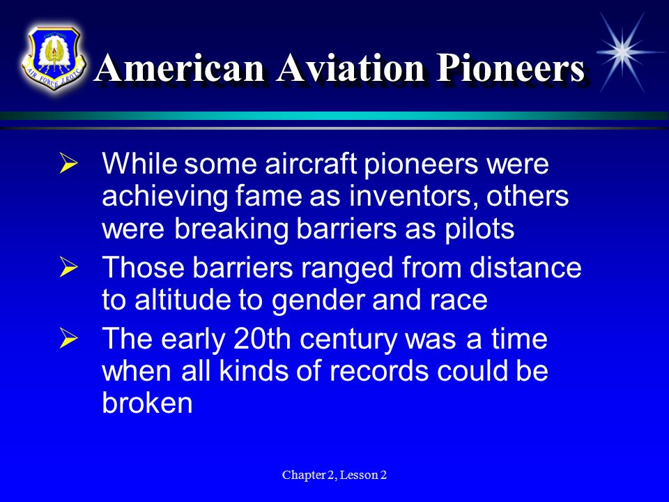 American Aviation Pioneers